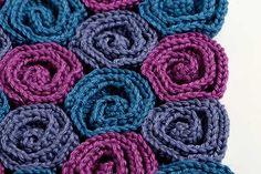 Rose Field blanket crochet pattern by YarnTwist