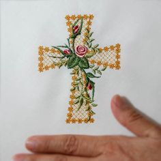 machine embroidery cross | Free Embroidery Designs & Machine Embroidery Patterns Online