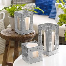 how to make a candleholder out of drywall corner bead