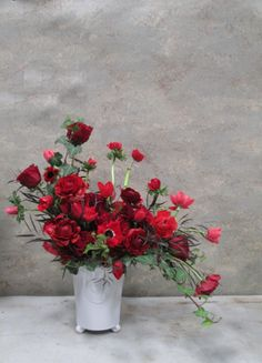 Red Romance Valentine's  #flowers #gifts #love #ValentinesDay