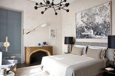 A bedroom designed by Jean Louis Deniot | Lonny.com