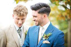 Luxe Autumnal Same Sex Wedding Inspiration