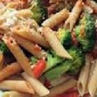 Wonderful pasta salad.  We omitted the parmesan cheese to make the recipe vegan.