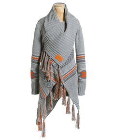 Superdry Navajo Tassel Cardigan