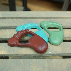 Open Set, Bar B Que, Home Kitchens, Different Colors, Bottle Opener, Aqua, Red, Gifts, Footprint