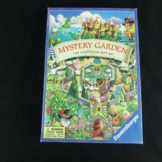 Vintage Mystery Garden Board Card Game 2000 Ravensburger for sale online Puzzle Board Games, Board Games For Kids, Games To Play, Punch Out Game, Labyrinth Board Game, Garden Tiles, St Pierre And Miquelon, Leather Box, Anime Japan