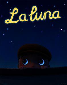 'La luna' short poster