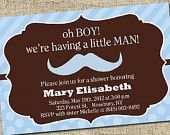 Invitations...i want to give someone a boy baby shower!!!!