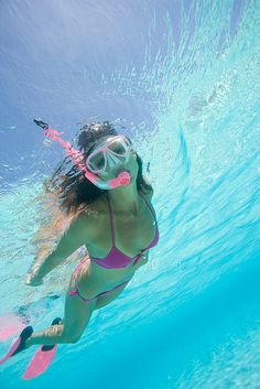 . I snorkle everywhere in the ocean after surfing
