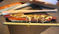 $26 hot dog unveiled by Texas Rangers concession....I love hot dogs but, Cholesterol, Calories????