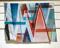 Couverture-nappe DIY pour le pique-nique, étapes de fabrication sur le site designsponge