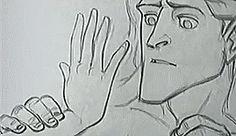 Keane Art, harrietvane: Tarzan pencil tests