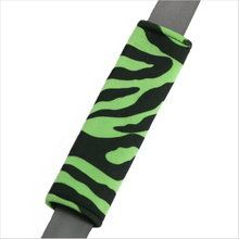 Drive in comfort with Zebra Animal Print lime green and black car seat belt shoulder pad. Soft velvet-like seat belt covers in girly designs. Seat Belt Pads, Girly Car, Car Accessories For Girls, Cummins, Car Stuff, Girl Pictures, Car Seats, Lime, Animal