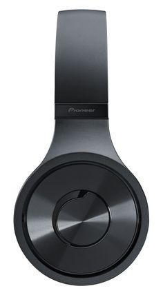 Details we like / HEadphones / Black /  / PIONEER / Brushed Metal Detail /