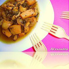 Σουπιές γιαχνί τέλειες! Seafood Recipes, Cooking Recipes, Fish And Seafood, Tableware, Kitchen, Dinnerware, Cooking, Chef Recipes, Tablewares