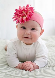 Pink Baby Boutique - Baby Girl Candy Pink Daisy Headband, $18.00 (http://www.pinkbabyboutique.com/baby-girl-candy-pink-daisy-headband/)
