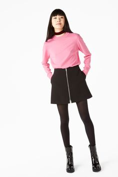 Monki Image 3 of Soft knit sweater in Pink Monki ff7d84c3fd4d8