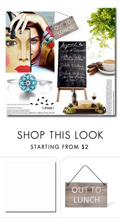"""""""TOTWOO GLOBAL LAUNCH - FIRST TIME EVER ON POLYVORE TO WIN A REAL PIECE OF EXPENSIVE JEWELRY"""" by totwoo ❤ liked on Polyvore featuring Garden Trading, WearableTech, totwoo and smartjewelry"""