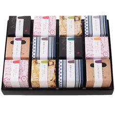 麻布かりんと詰合せ  キューブ箱12個セット 価格 3,300円(税込)
