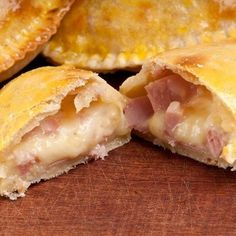 Chausson camembert-bacon