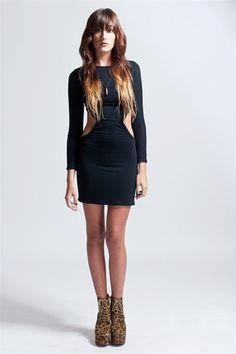 Cut-Out Mini  #dress $72.00