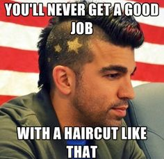 Bobak Ferdowsi // Smart people are awesome and are only topped by smart people with mohawks! I know I love the mohawked nerd I have! -pixypi