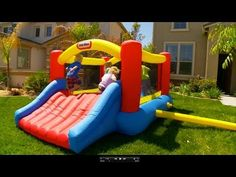 Bouncy House For Sale - Jump And Slide