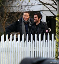 "Colin O'Donoghue and Josh Dallas - 6 * 13 ""Ill-boding Patterns"" - Behind the scenes - 15 November 2016"