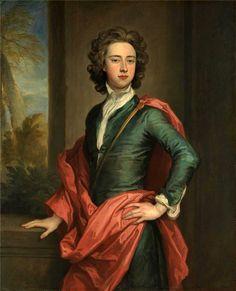 ЧАСТЬ 7. Династия Стюартов.1660- 1685.Карл II (Charles II) Charles Beauclerk,1st Duke of St Albans(8.05. 1670,Лондон-10.05.1726,Бат) внебрач. сын Карла II и его любовницы Нелл Гвин.Чарльз Боклер,1-й герцог Сент-Олбанс,портрет 1690-х.Не находился в Англии во время Славной революции 1688,но смог уст-вить друж.отношения с нов.королем Вильгельмом III Оранским.С 1691 заседал в палате лордов.Летом 1697 вм.с Вильг.III Оранским встречал в Утрехте рус.царя Петра Великого.