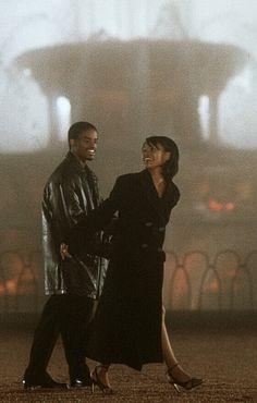 Darius & Nina from the movie, Love Jones. #blacklove