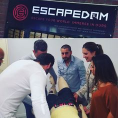 This was nuts! Our manager went to Escape Room in LA with some colleagues. Scary stuff. #thecarvonisgroup #escaperoom