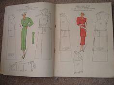 Vintage Haslam System of Dresscutting coronation number 1937