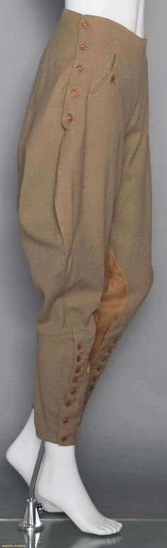 Lovely riding trousers - I'm inspired by these jodhpurs.
