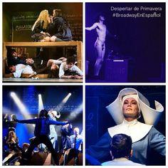 Escenas del musical Despertar de Primavera #BroadwayEnEspanol