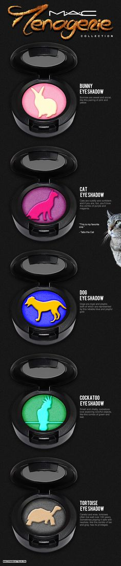 Tabs the Cat for the MAC Menagerie Collection