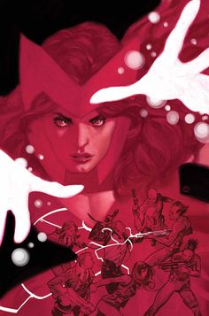 Scarlet Witch and the Agents of SHIELD •Julián Totino Tedesco