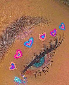 No pues son imágenes :'v #detodo # De Todo # amreading # books # wattpad Cute Makeup Looks, Makeup Eye Looks, Eye Makeup Art, Crazy Makeup, Pretty Makeup, Indie Makeup, Edgy Makeup, Aesthetic Eyes, Aesthetic Makeup