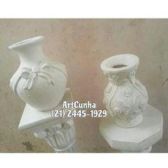 Vasos decorativos. #vaso #vasos #decorativo #decorativa #blogdecor #fruteira #decoração #artesanato #decoracao #novidade #novidades #lançamento #novo #nova #bomdia #quarta #quartafeira #boatarde #artesanato #gesso #euquero #arquitetura #vase #vases #jacarepagua #rio #021 #021rio #classe #estilo #blogdecor #décor #décordodia #decor #novidade #artes #riodejaneiro #riodecor #rj