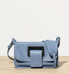 Trendy Handbags and Purses : top zip shoulder bag in leather side buckle details X X leather. - Women W Trendy Handbags, Purses And Handbags, Black Shoulder Bag, Leather Shoulder Bag, Buckle Bags, Grab Bags, Fashion Bags, Saddle Bags, Messenger Bag