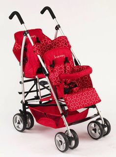 Kinderwagon Tandem Umbrella Stroller - audios to the side by side! Best Double Pram, Double Prams, Best Double Stroller, Single Stroller, Cheap Strollers, Best Baby Strollers, Double Strollers, City Select Double Stroller, Best Lightweight Stroller