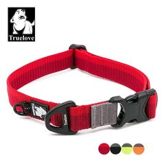 Truelove Nylon Adjustable Dog Collars For Big Small Dogs Soft Pet Collar For Dogs Outdoor Travel Walking Jogging Dog Accessories. Outdoor Dog, Outdoor Travel, Outdoor Gear, Paws And Claws, Red S, Orange Red, Creature Comforts, Camping And Hiking, Animals Of The World