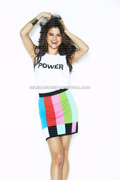 New outtakes from Selena's 2014 Seventeen Magazine cover photoshoot