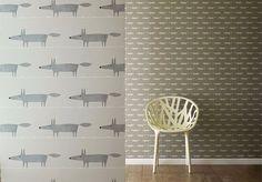Mr Fox Wallpaper