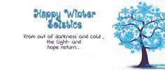 """ Happy Winter Solstice "" FB Cover Photo"