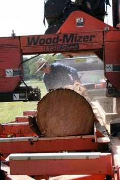 Wood-Mizer portable sawmill - wanna mill my own timber
