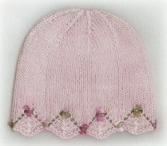 One Day Baby Hat by Susan Rainey free knitting pattern on Ravelry at…
