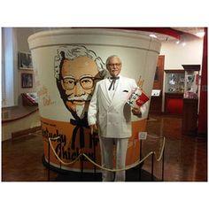 Colonel Sanders statue  | Colonel Sanders Autobiography - Fast Food News - Delish