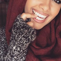 mode, hijab, l'Islam, sourire, style
