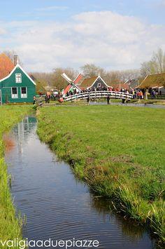 Olanda, i mulini a vento di Zaanse Schans