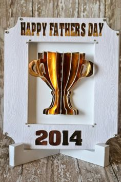 RANDOM RAMBLINGS: FATHERS DAY TROPHY FRAME